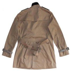 Burberry-Manteaux pour hommes-Marron