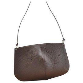 Louis Vuitton-Louis Vuitton Pochette Demi Lune-Brown