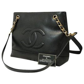Chanel-Chanel Vintage Shoulder Bag-Black