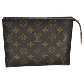 Louis Vuitton-Louis Vuitton Poche Toilette 19-Black