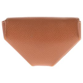 Hermès-Porte-Monnaie Hermès 24 en cuir Epsom Gold !-Doré