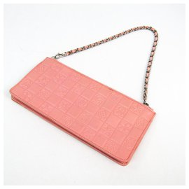 Chanel-Chanel Pink Lucky Charms Pochette-Pink