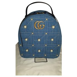 Gucci-GG Marmont-Turquoise