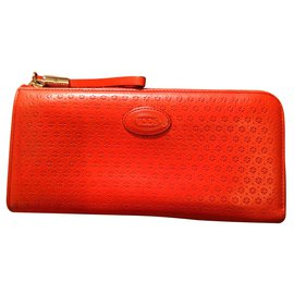 Tod's-Sublime portefeuille Tods-Rouge