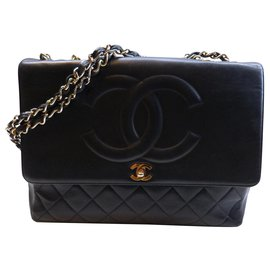 Chanel-Sac Chanel vintage-Noir