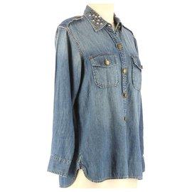 Current Elliott-Shirt-Blue