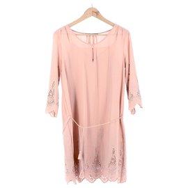 Comptoir Des Cotonniers-Robe-Rose