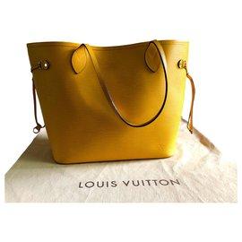 Louis Vuitton-Neverfull Louis Vuitton bag-Yellow