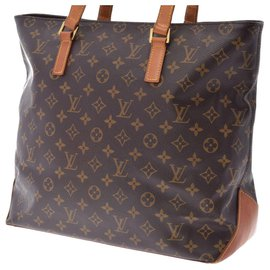 Louis Vuitton-Louis Vuitton Cabas Alto-Brown