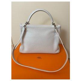 Hermès-Kelly 32-Blanc