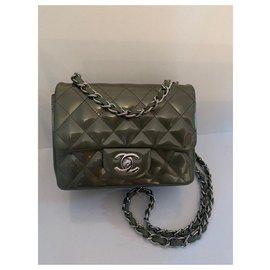 Chanel-Mini Chanel-Vert
