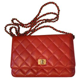 Chanel-2.55 WOC-Red