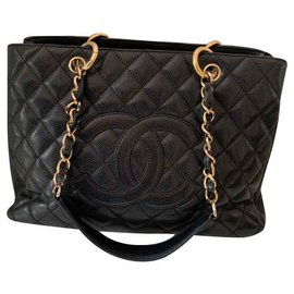 Chanel-Grand shopping-Noir
