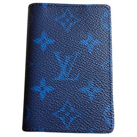 Louis Vuitton-Louis Vuitton taigarama wallet-Blue