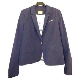 Ikks-Jackets-White,Navy blue,Dark blue