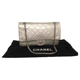 Chanel-2.55-Argenté