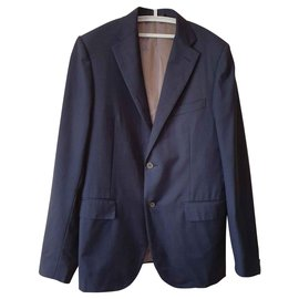 Corneliani-Blazers Jackets-Blue