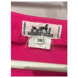 Hermès-Tops-Pink,Golden