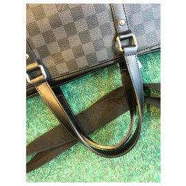 Louis Vuitton-Bags Briefcases-Grey