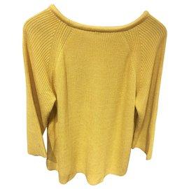 Hermès-Knitwear-Yellow