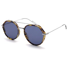 "Dior-DIOR GLASSES ""DIOR0219S "", TURTLE AND BLUE sunglasses lunettes-Multiple colors"