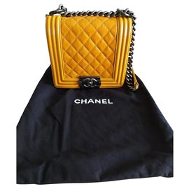 Chanel-Sac bandoulière Chanel-Orange