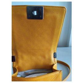 Chanel-Chanel shoulder sling bag-Orange