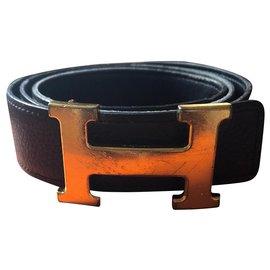 Hermès-Belts constance-Brown