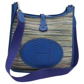 Hermès-Evelyne PM-Bleu