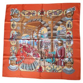 Hermès-Maharajas-Orange