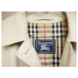 Burberry-Waterproof Burberry vintage Markfield model size 44-Beige