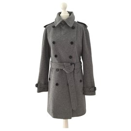 Burberry-Coats, Outerwear-Grey