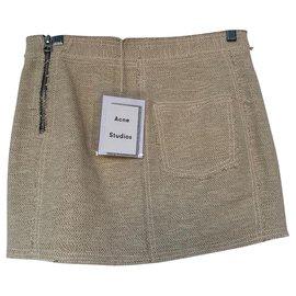 Acne-Skirt suit-Beige