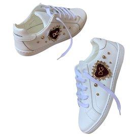 Dolce & Gabbana-sneakers-Blanc