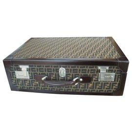 Fendi-Travel bag-Brown