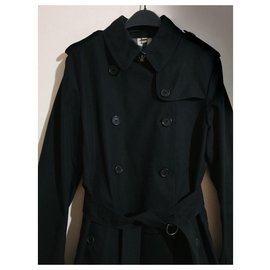 Burberry-Coats, Outerwear-Black