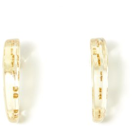 Chanel-GOLDEN CC HOOPS-Golden