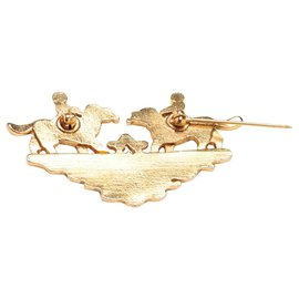 Hermès-KIDS AND DOGS ENAMEL-Golden