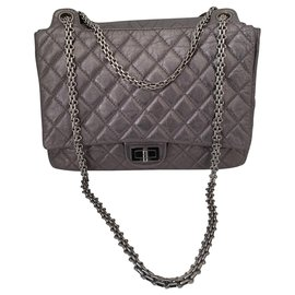 Chanel-Chanel 2.55-Silvery
