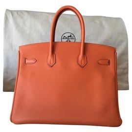 Hermès-Hermès Birkin 35-Orange