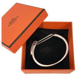 Hermès-Hermès Silver Click Bracelet-Other