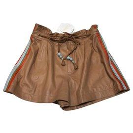 Chloé-Shorts-Caramel