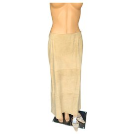 Christian Dior-Skirts-Beige