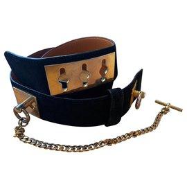 Céline-dog collar-Black