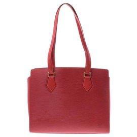 Louis Vuitton-Louis Vuitton Epi vintage shoulder bag-Red
