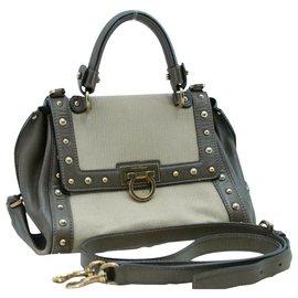 Salvatore Ferragamo-Salvatore Ferragamo Vintage Handbag-Black
