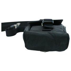 Prada-Prada Nylon Shoulder Bag-Black