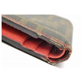 Fendi-Fendi Bifold Wallet-Brown