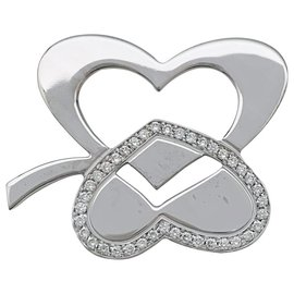 """Fred-Fred """"Clover"""" pendant in white gold and diamonds.-Other"""