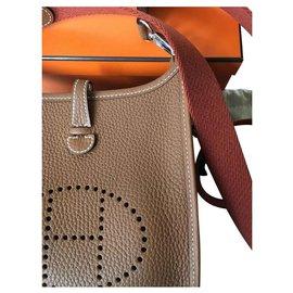 Hermès-Handbags-Brown